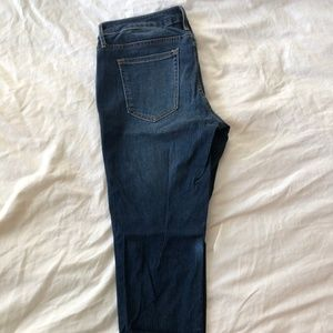Gap Maternity Inset Panel Girlfriend Jeans